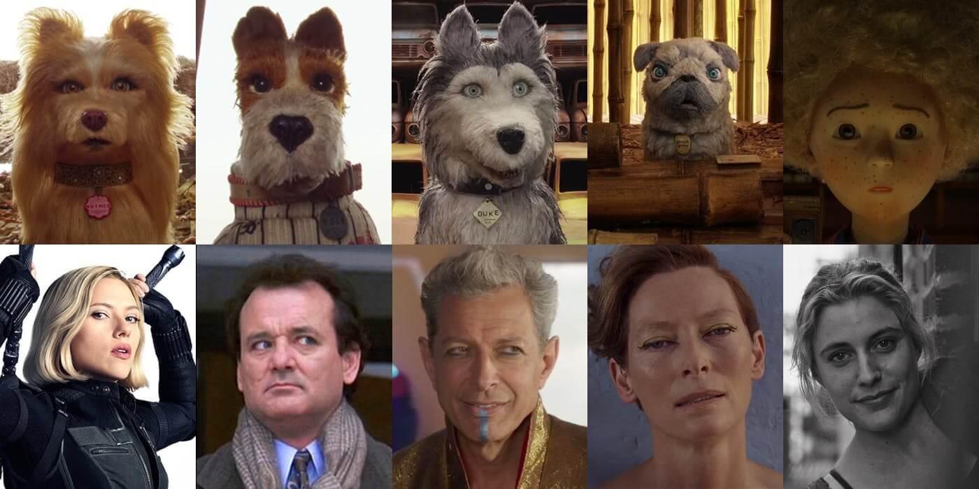 採取先配音再製作動態的 停格動畫電影 《 犬之島 》,卡司陣容星光熠熠。