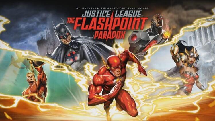 DC 原創動畫電影《正義聯盟:閃點悖論》。