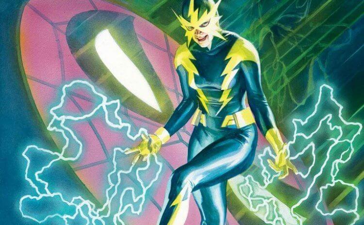 女性版「電光人」。