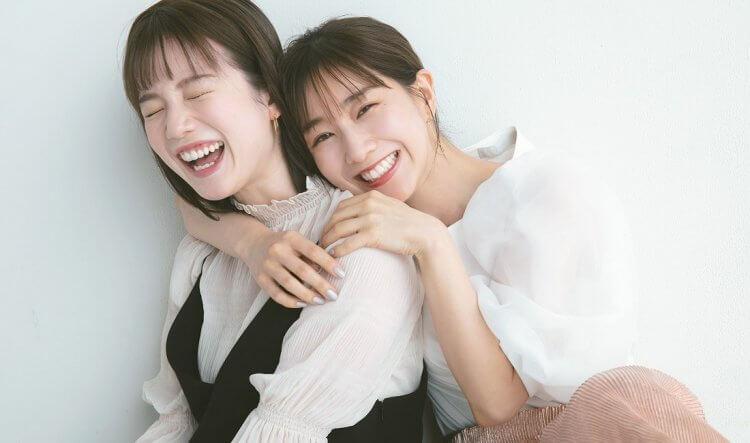 日綜《戀愛心機又如何》兩位女主持人田中美奈實與弘中綾香。