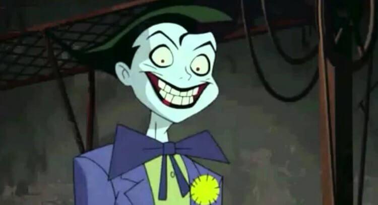 動畫《Batman Beyond: Return of the Joker.》中的第二代羅賓提姆德雷克 (Tim Drake) 後來變成小丑。