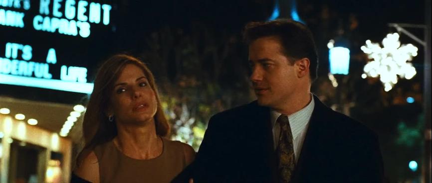《 衝擊效應 》:飾演夫妻的 布蘭登費雪 與 珊卓布拉克 。