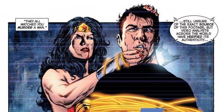麥斯威爾羅德在 DC 漫畫《The OMAC Project》中被神力女超人殺死 。
