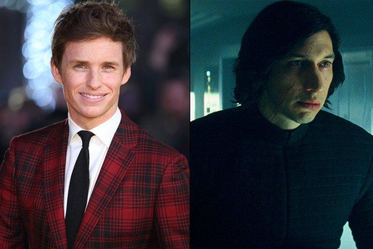 星戰迷艾迪瑞德曼也想演《星際大戰》,但他不知曾參加試鏡的角色其實是凱羅忍。