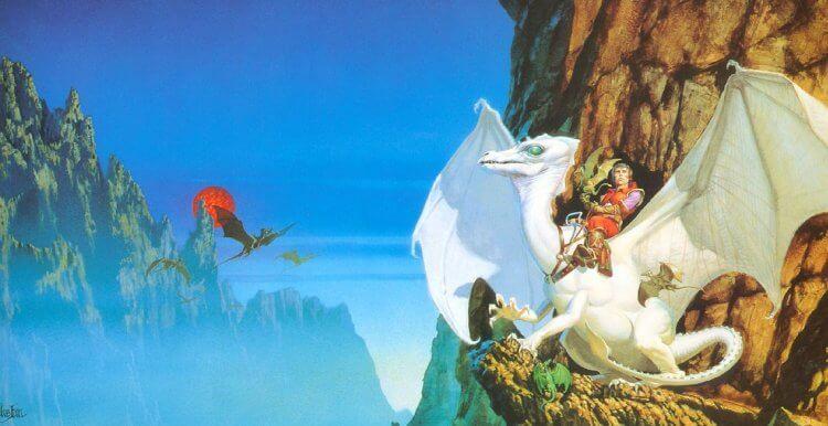《帕恩行星的龍騎士》劇照。