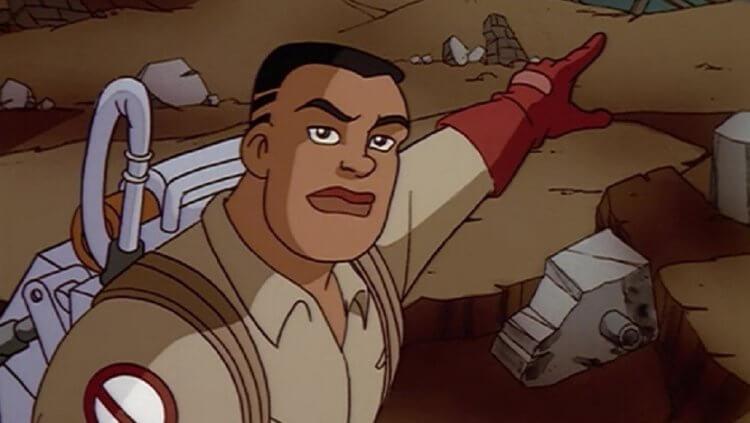 《捉鬼特攻隊》卡通:羅蘭傑克森 (Roland Jackson)。