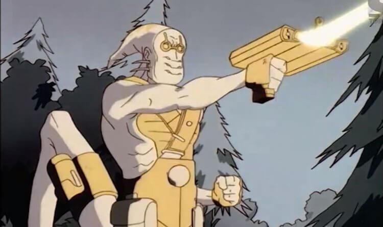 動畫影集《MIB 星際戰警》:Treblor。