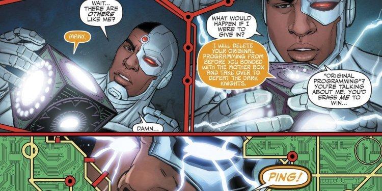 DC 漫畫中的母盒與鋼骨。
