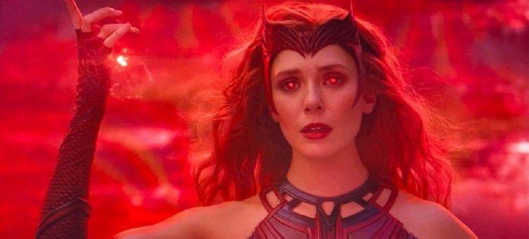 影集《汪達與幻視》「緋紅女巫」伊莉莎白歐森。