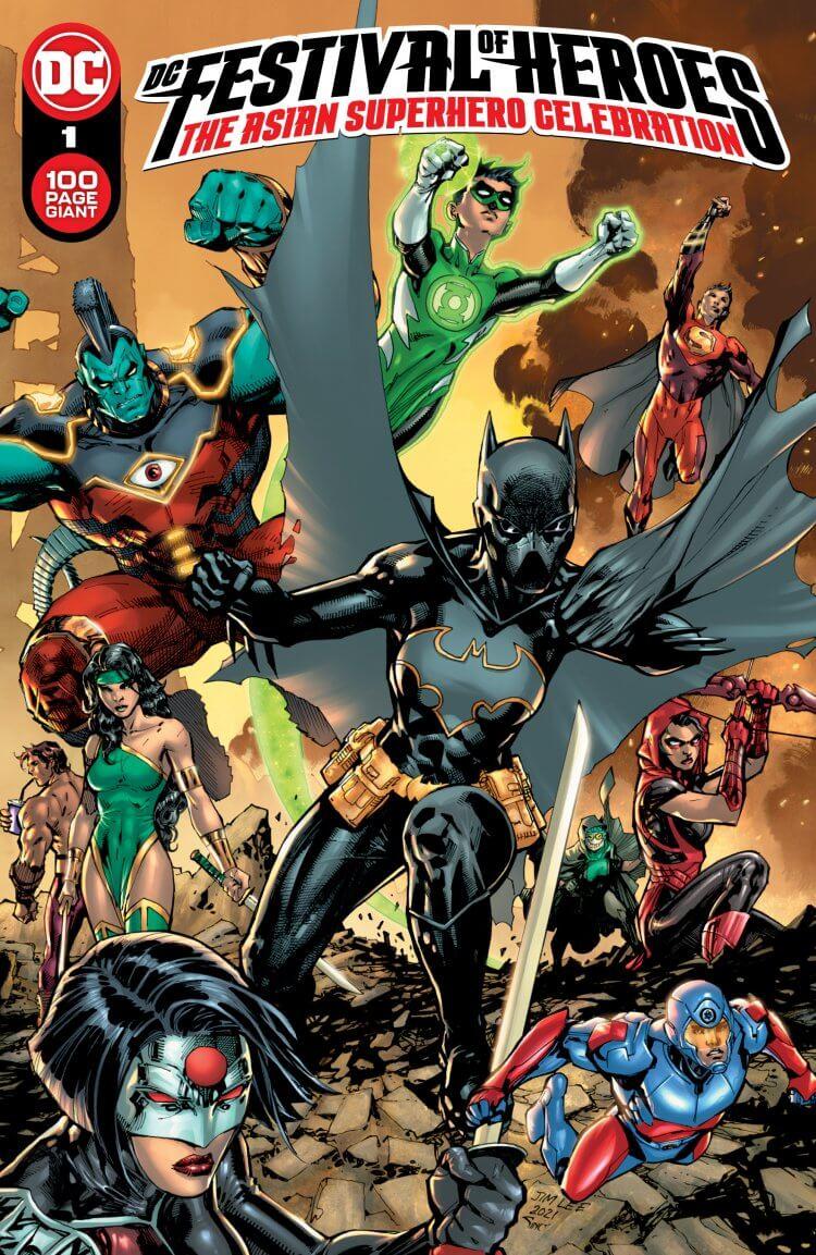 DC 漫畫配合「亞裔美國人文化傳統月」活動。