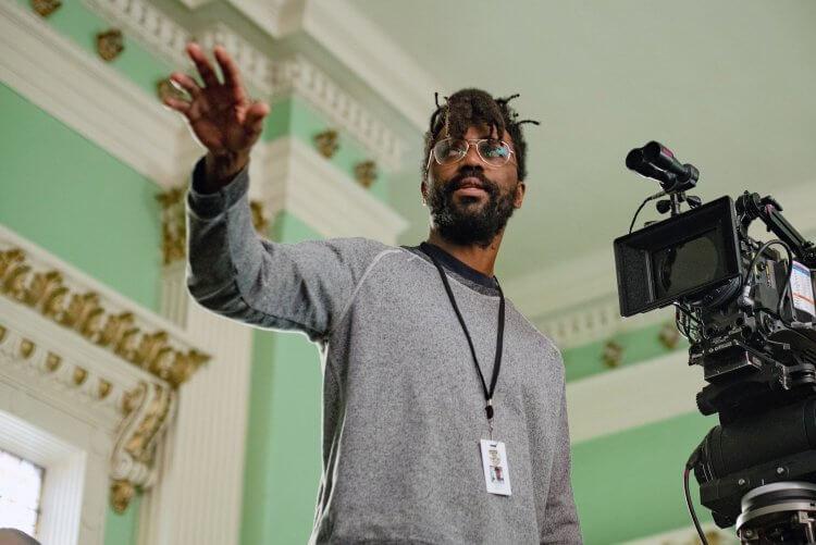2021 奧斯卡最佳影片入圍電影《猶大與黑色彌賽亞》導演恰卡金。