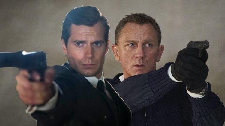 亨利卡維爾(左)就差那麼一點成為 007 龐德。