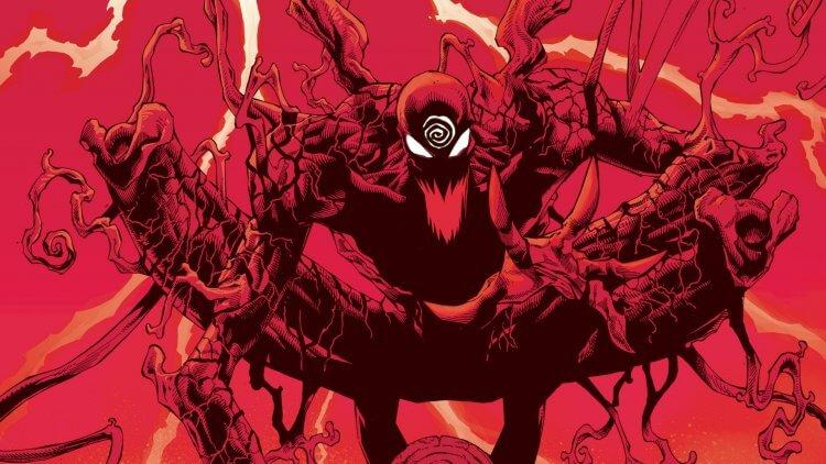 漫畫中的血蜘蛛。