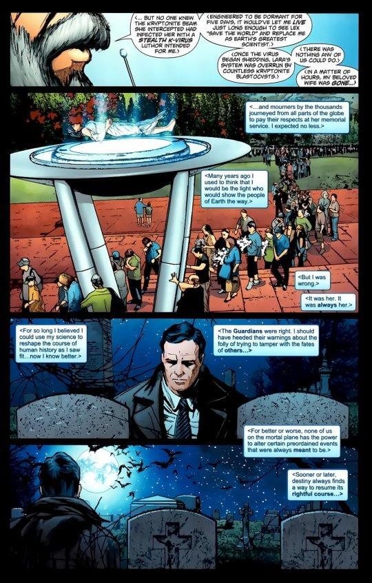 要是超人跟他的親生父母一起到地球呢?