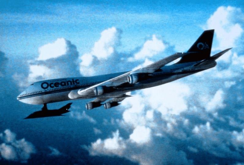 《七四七絕地悍將》,隱形飛機連接上糟挾持的 747 客機,試圖破解這個空中密室的危難......