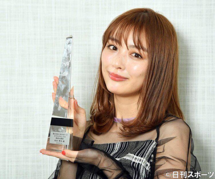 在演藝事業上頗有成就的日本女星內田理央。