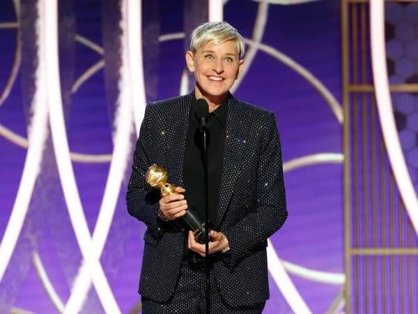 艾倫狄珍妮獲得電視類終身成就獎。