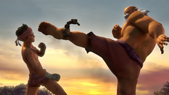 《 暹羅訣:九神戰甲 》劇情給人滿滿的正能量。