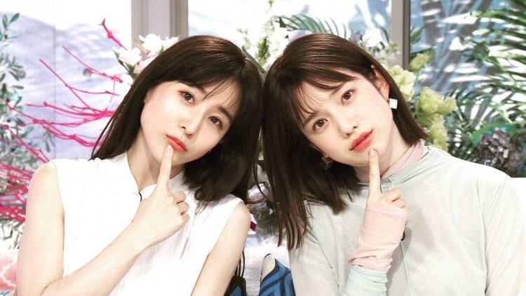 日綜《戀愛心機又怎樣》田中美奈實(左)與弘中綾香(右)。