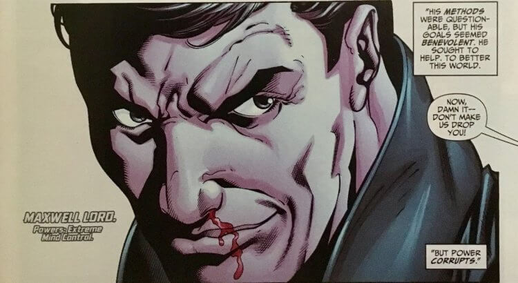 DC 漫畫中的麥斯威爾羅德。