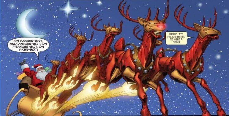 漫威宇宙中的聖誕老人。
