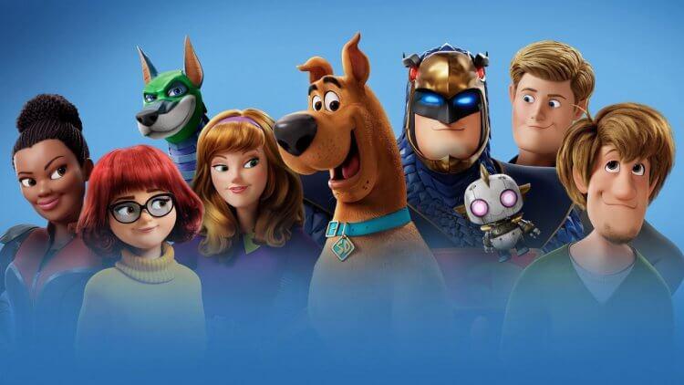 《狗狗史酷比》動畫。