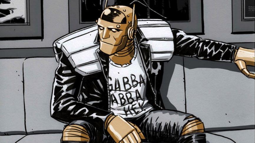 DC 《 末日巡邏隊 》 機器男 。