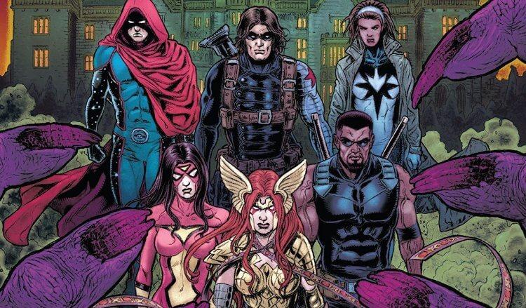 漫威復仇者聯盟黑色小隊。
