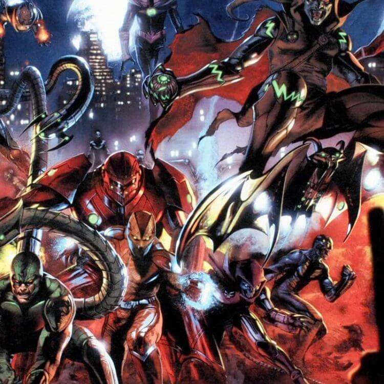 《蜘蛛人》漫畫中化身「惡鬼」的不明男子。