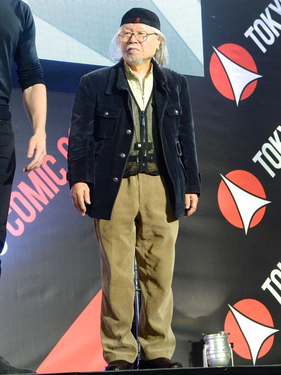日本科幻漫畫大師:松本零士。