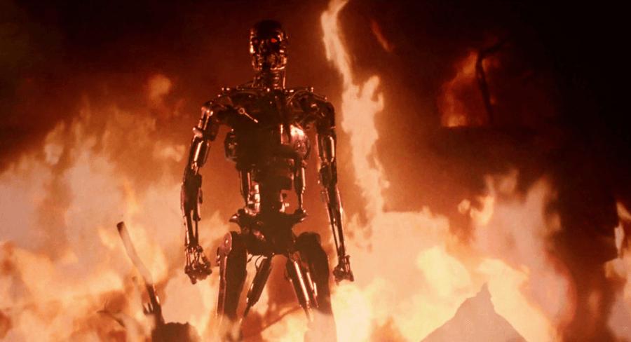 詹姆斯卡麥隆 一手打造的《 魔鬼終結者 》。