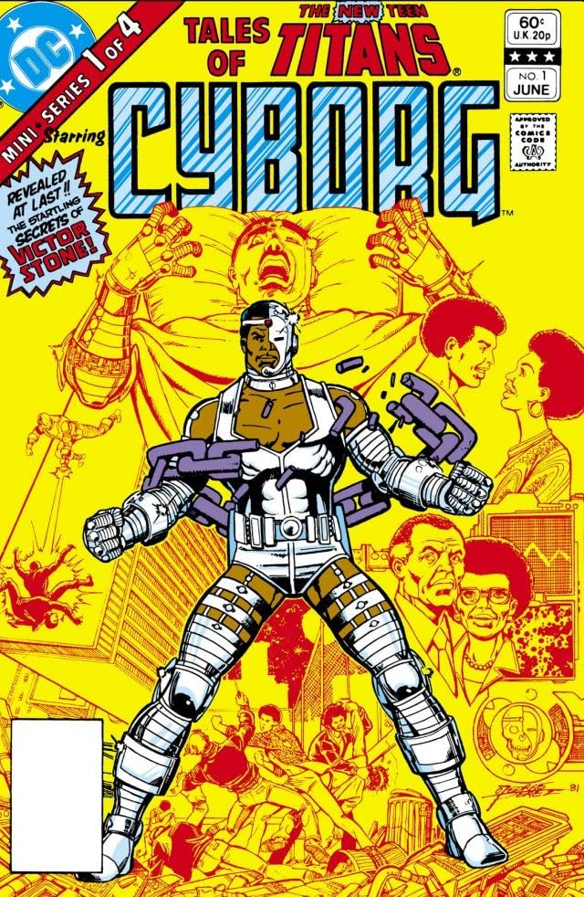 1982 年 6 月出版的 DC 漫畫《Tales of New Teen Titans》。