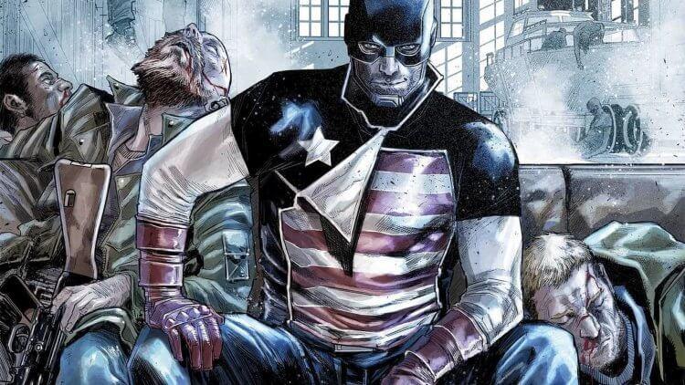 約翰沃克與史帝夫羅傑斯對戰失敗後改稱為「美國探員」(U.S. Agent)。