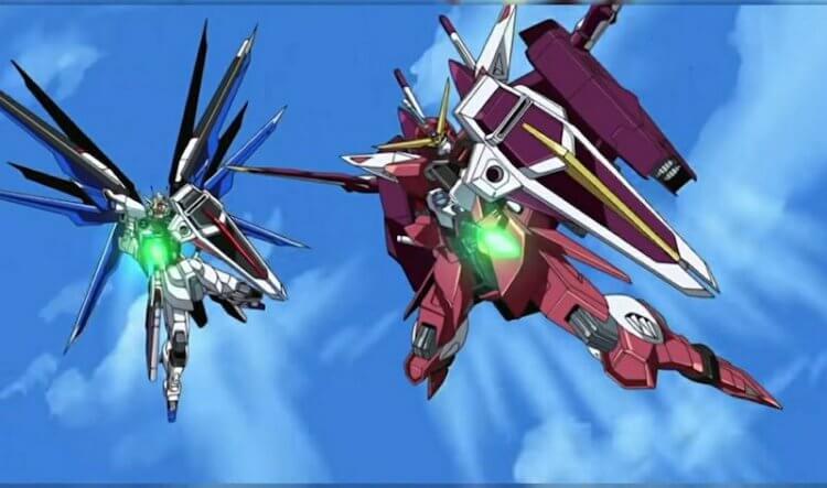 動畫《機動戰士鋼彈 SEED》。