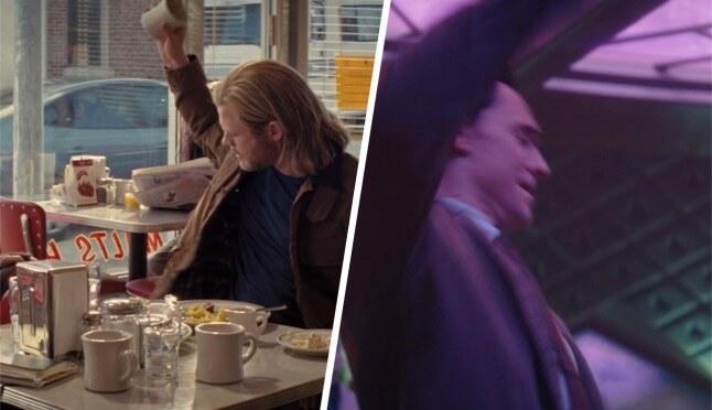 《洛基》影集第三集彩蛋與原作致敬:洛基與索爾摔酒杯的動作一樣