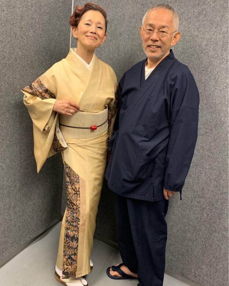 夏木麻里及鈴木敏夫。