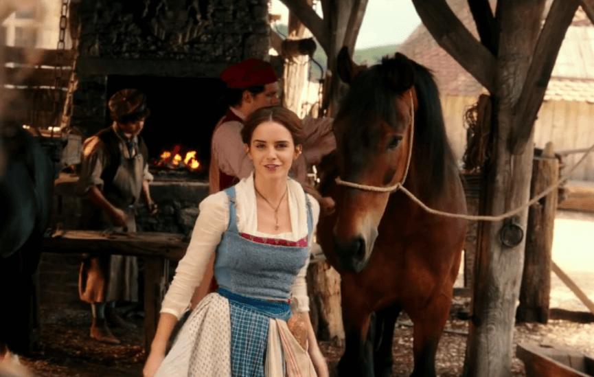 艾瑪華森 在 迪士尼 電影《 美女與野獸 》中所詮釋的貝兒已是時代新女性的形象。