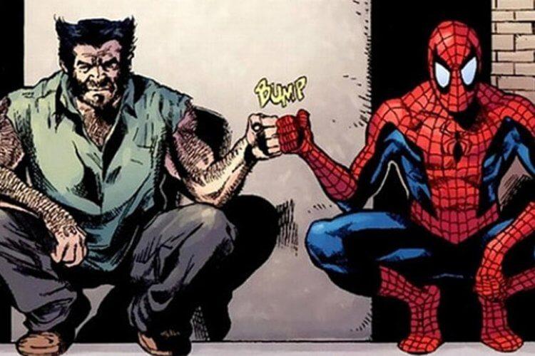 金剛狼與蜘蛛人。