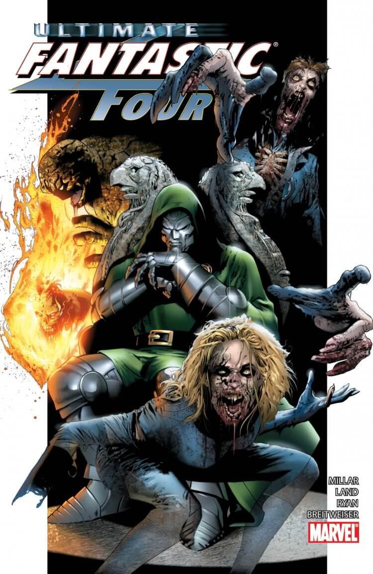 《漫威活死人》漫畫——《終極驚奇四超人》。
