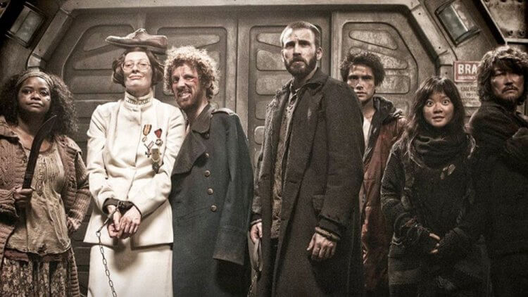 電影版《末日列車》劇照。