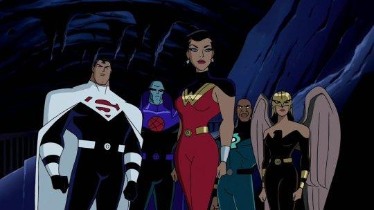 DC 動畫宇宙的作品《正義聯盟》
