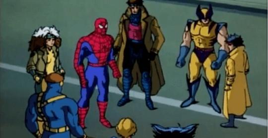 蜘蛛人動畫系列劇照。