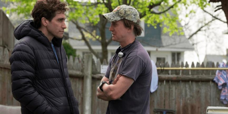《 你是我的勇氣 》 傑克葛倫霍 (左)、與導演 大衛高登格林 (右) 已有合作。
