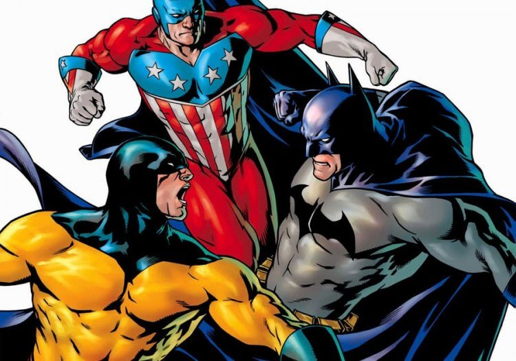 DC 接手阿奇漫畫的英雄們,但不甚成功。