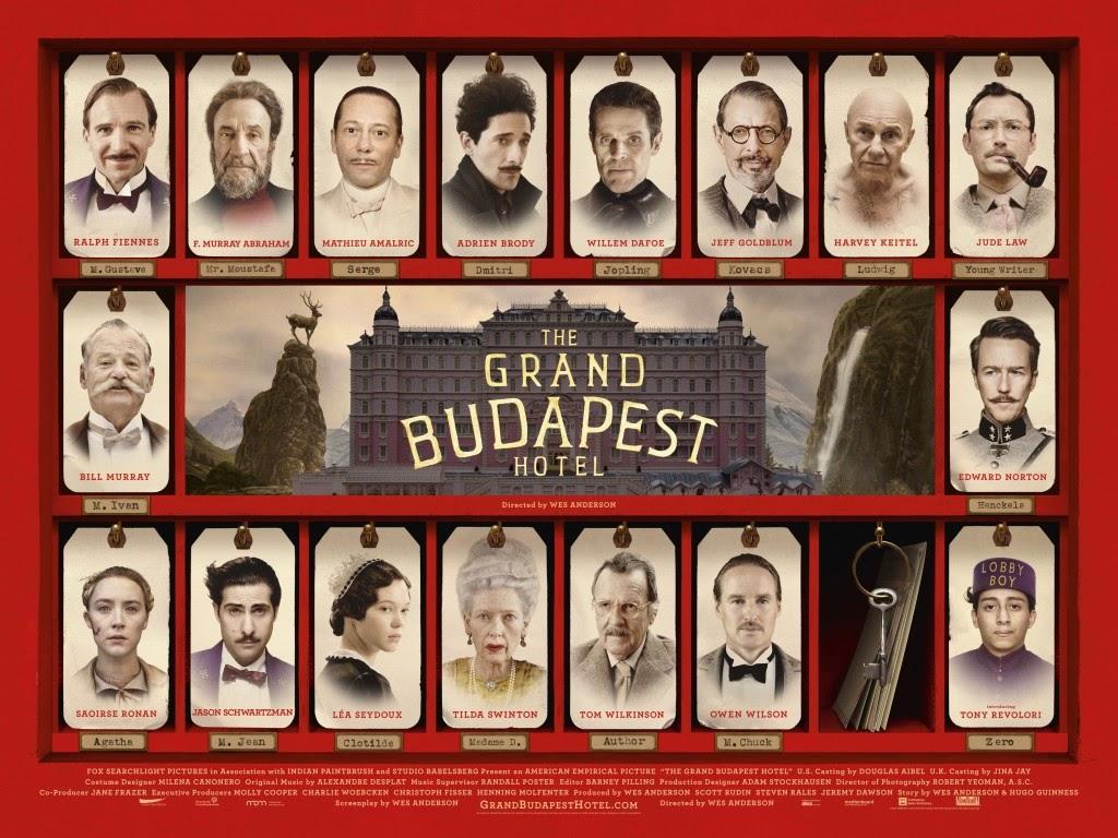 《 歡迎來到布達佩斯大飯店 》電影 海報