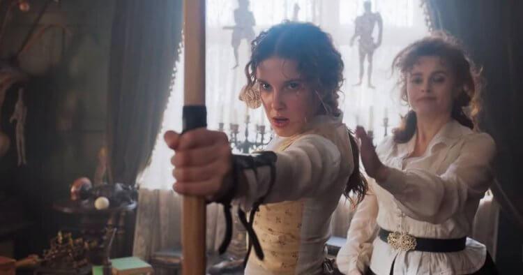 Netflix 《天才少女福爾摩斯》電影劇照。