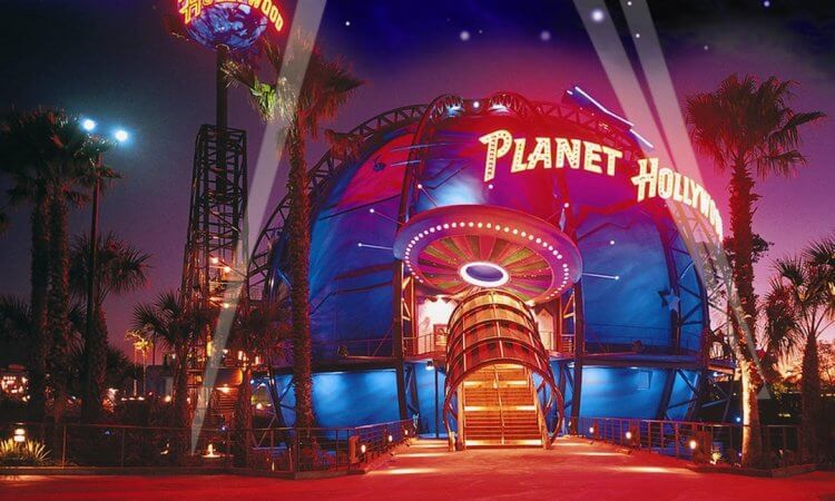 Planet Hollywood(好萊塢星球)。