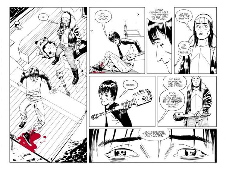 《陰屍路》特別篇漫畫。