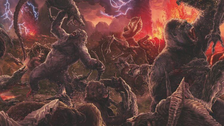 「怪獸宇宙」將骷髏島設定於地球的空心世界正上方。