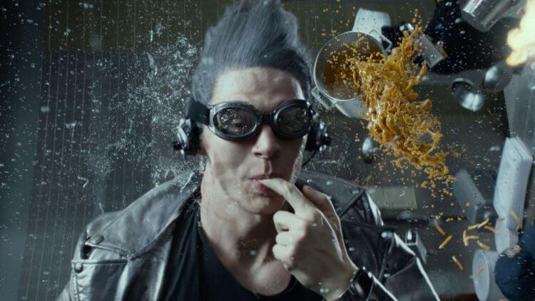 《X戰警:未來昔日》快銀。